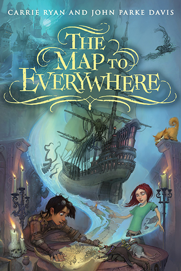 THE MAP TO EVERYWHERE hardcover cover